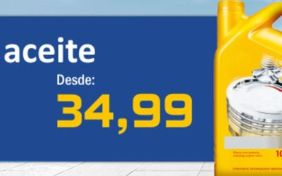 Cambio de aceite desde 34,99 €